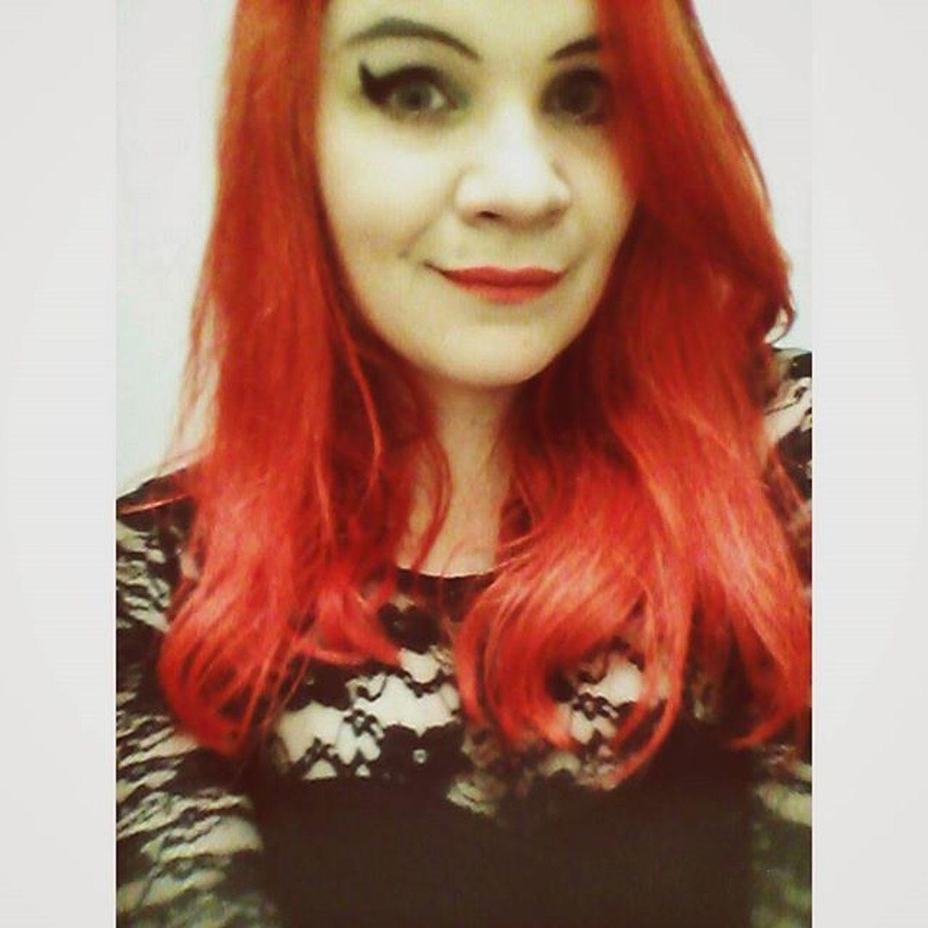 Vscocam Redhead Foreverblack