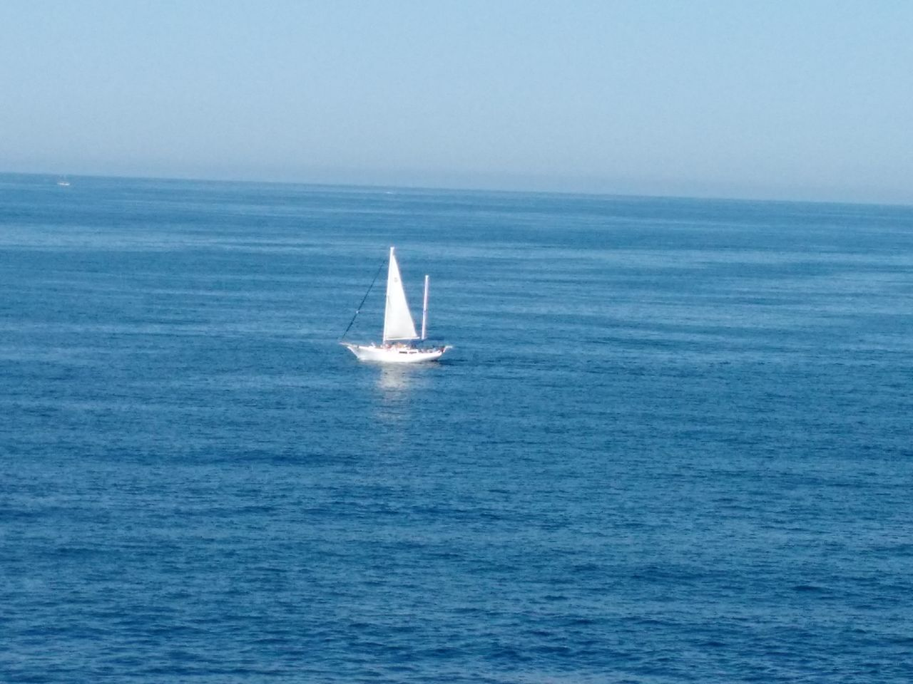 Sailing Sea Nautical Vessel Blue Water Sailboat Travel Clear Sky Vacations Horizon Over Water Sport Adventure Yachting Outdoors Sailing Ship Day Yacht Nature No People Regatta