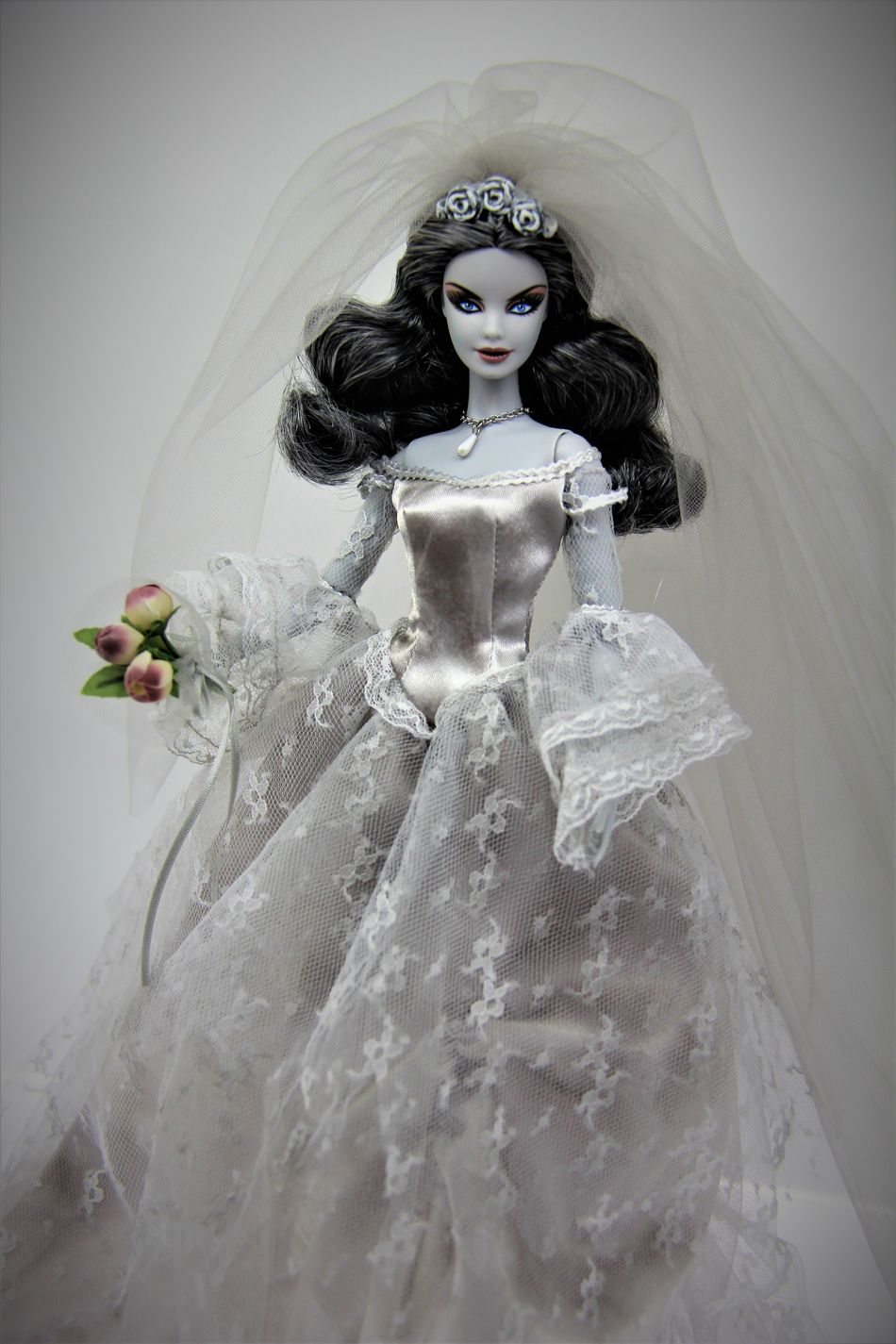 Barbie Barbie Collector Barbie Expo Fashion Portrait Wedding Dress Women Zombie Girl