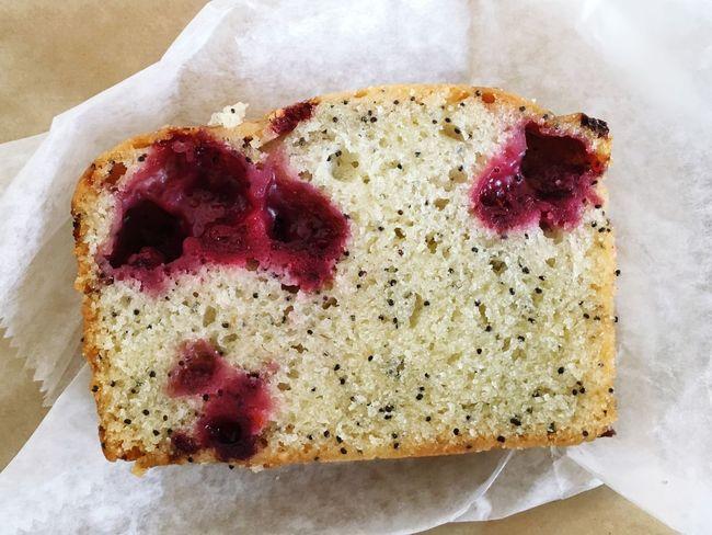 Raspberry Lemon Cake is glorious