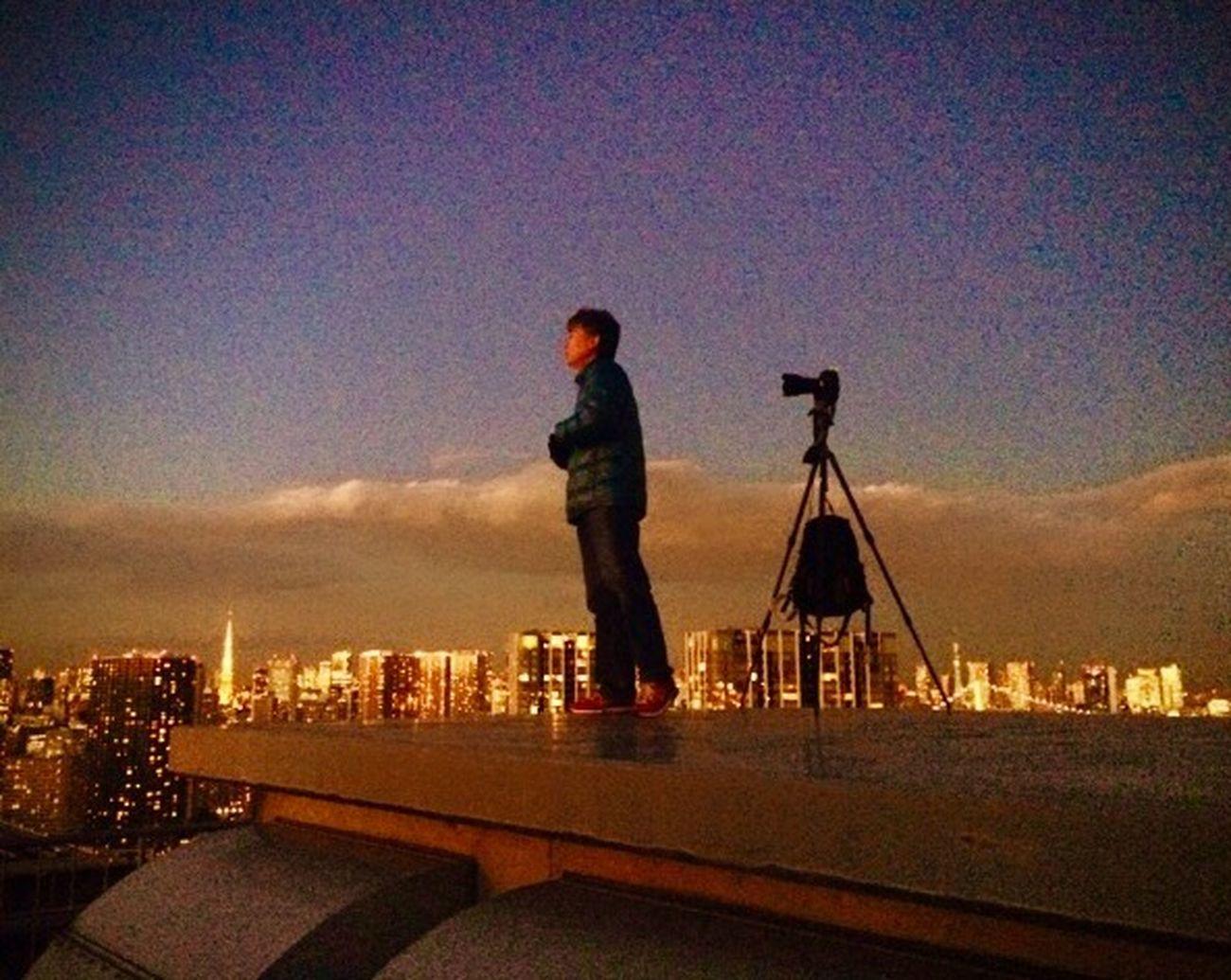 プロカメラマンがカッコ良すぎて パチリ📷 天王洲アイル 東京湾 Tokyobay