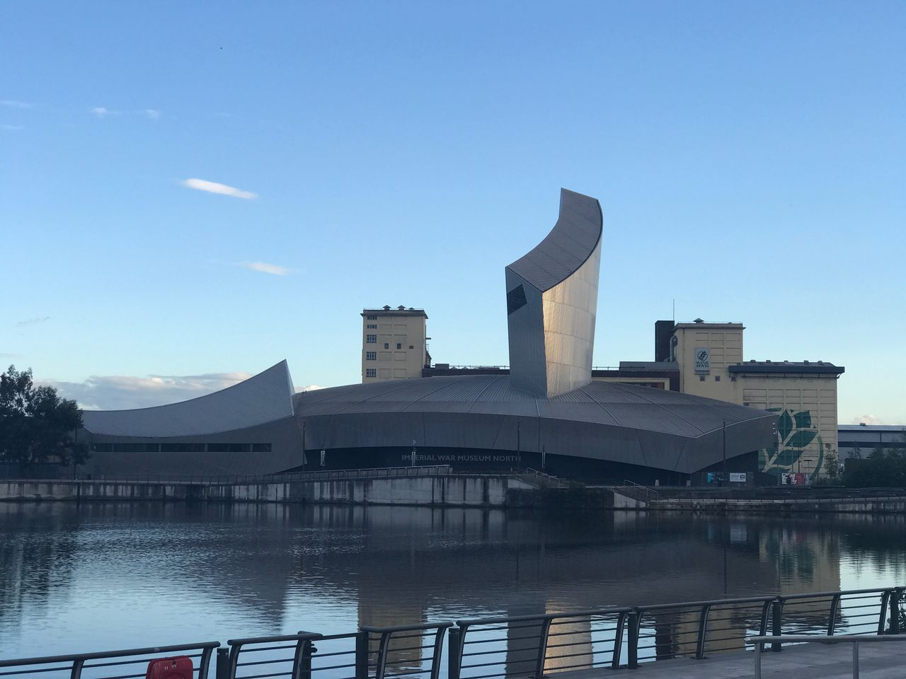 Architecture Built Structure Water Building Exterior No People River Day Blue Outdoors Sky Modern Clear Sky Nature Imperial War Museum North Mediacityuk