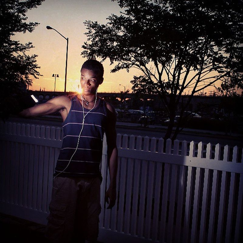Trying to understand sunset lighting...its pretty cool I wish I had a Muse for a neighbour
