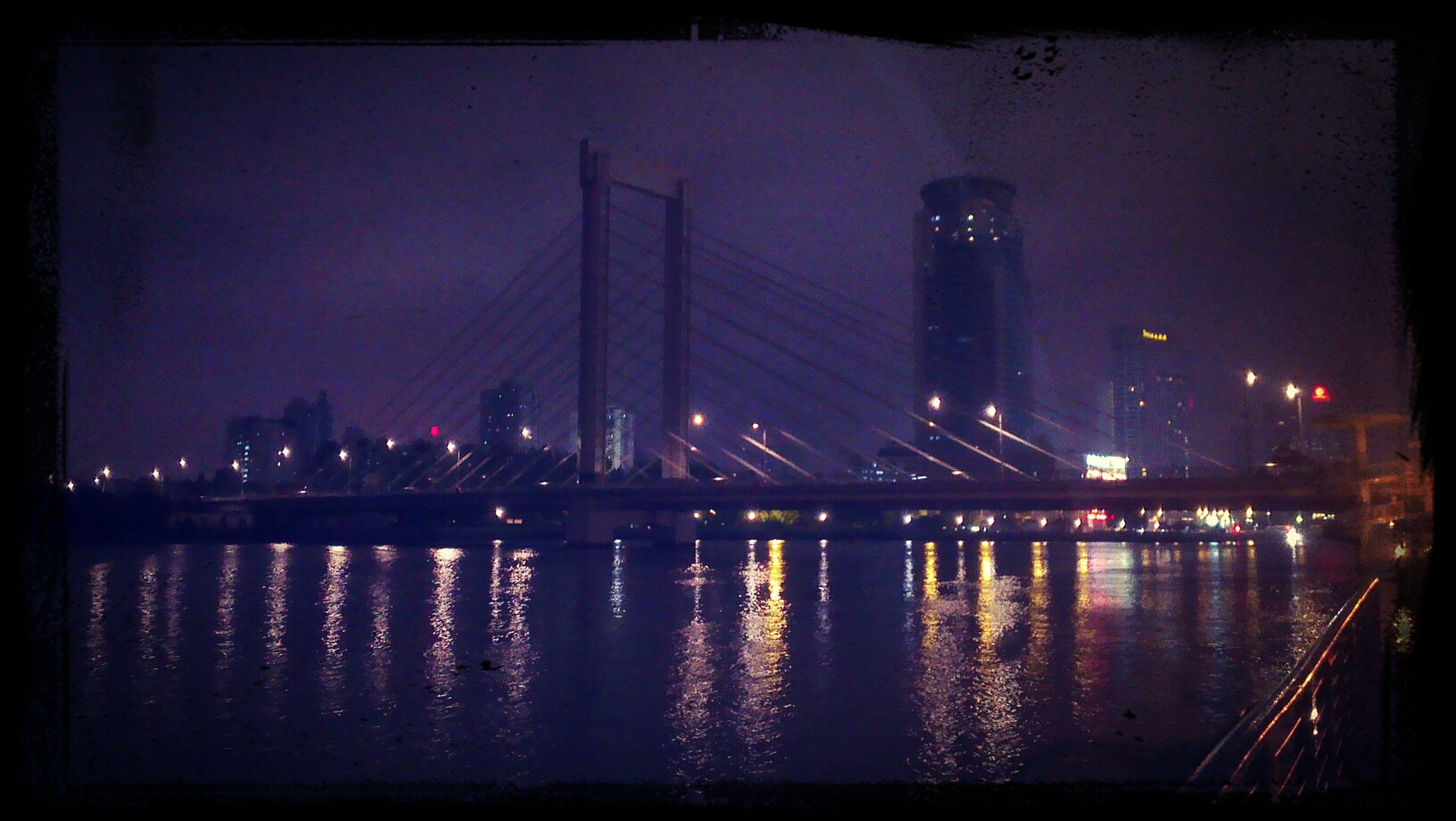 Ningbo Laowaitan Bridge Night