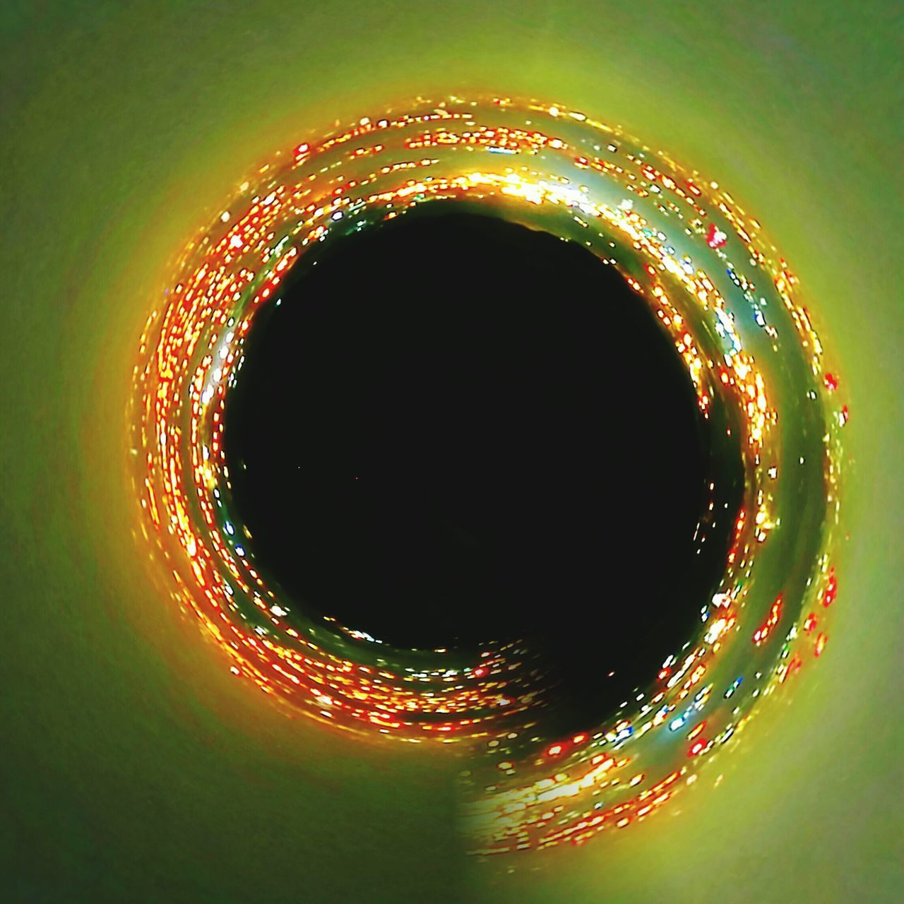 Black Hole Heat - Temperature Circle Vibrant Color Yellow Abstract Defocused Flame Backgrounds Burning Close-up Shiny No People Nature