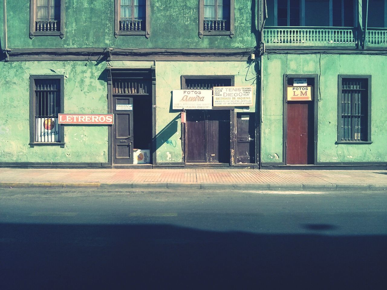 The Streets of Antofagasta, Chile.