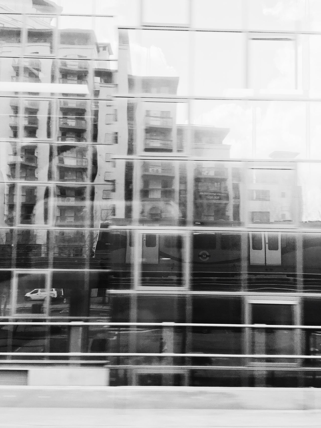 On a journey DLR Subway Architecture Monochrome Blackandwhite Showcase April Streetphotography London Vscocam VSCO Iphonesia IPhoneography