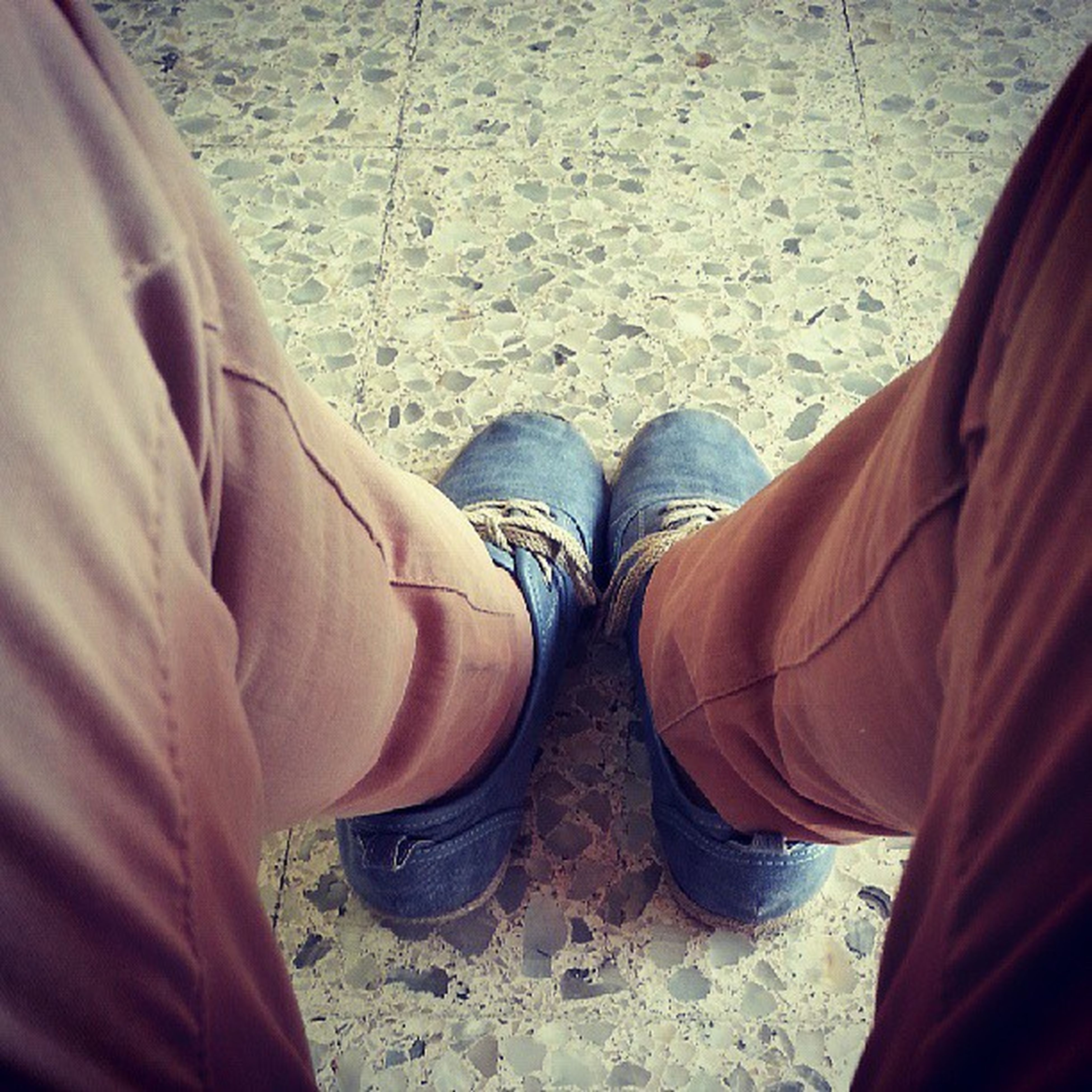 low section, person, shoe, jeans, men, lifestyles, standing, casual clothing, human foot, footwear, personal perspective, leisure activity, sitting, high angle view, relaxation