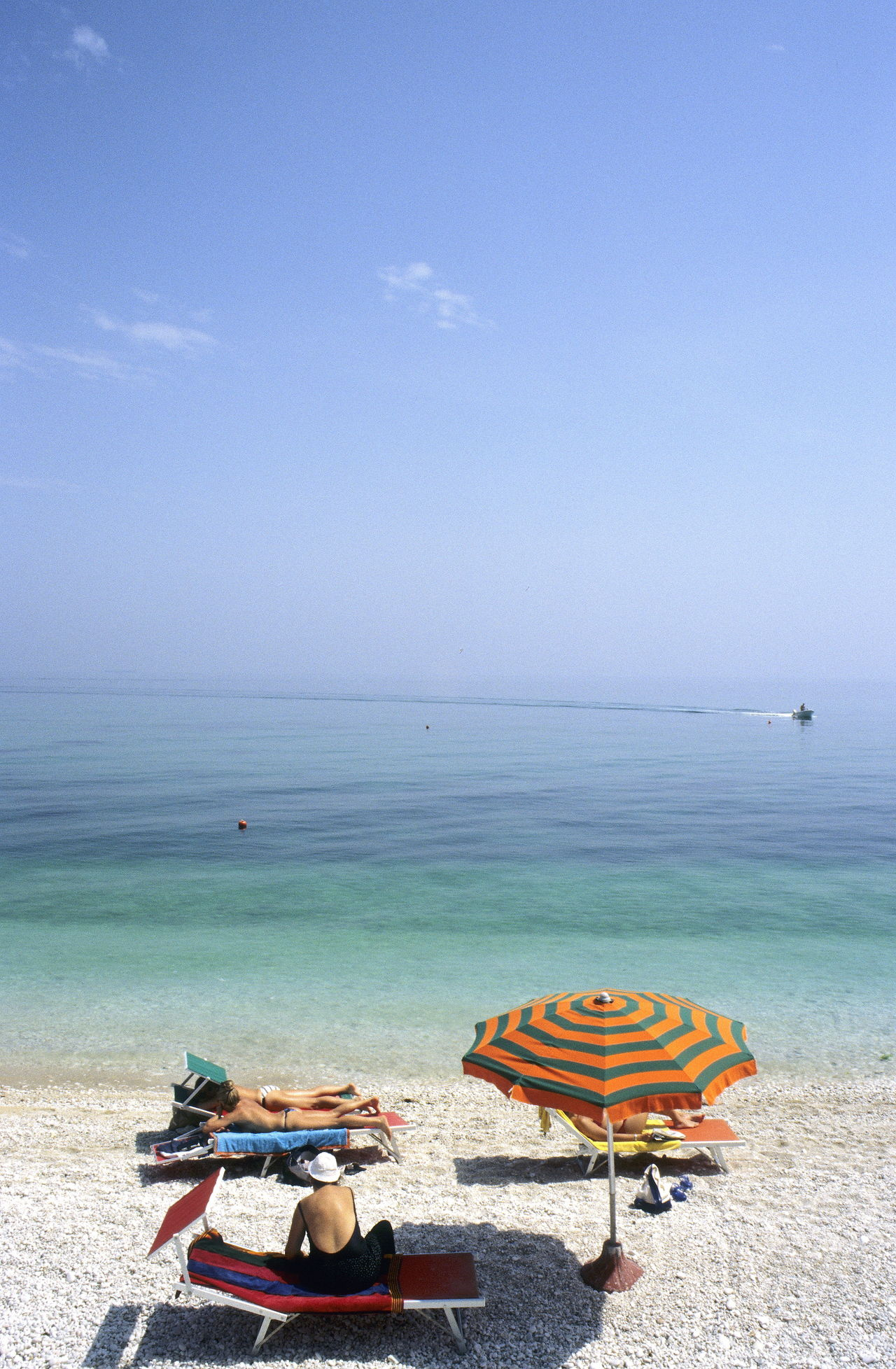 Adriatic Adriatic Sea Beach Beachphotography Beauty In Nature Day Horizon Over Water Italy Le Marché Nature Outdoors Parasol Scenics Sea Sky Sunbathing Sunshine Tranquil Scene Tranquility Umbrella Waiting Water