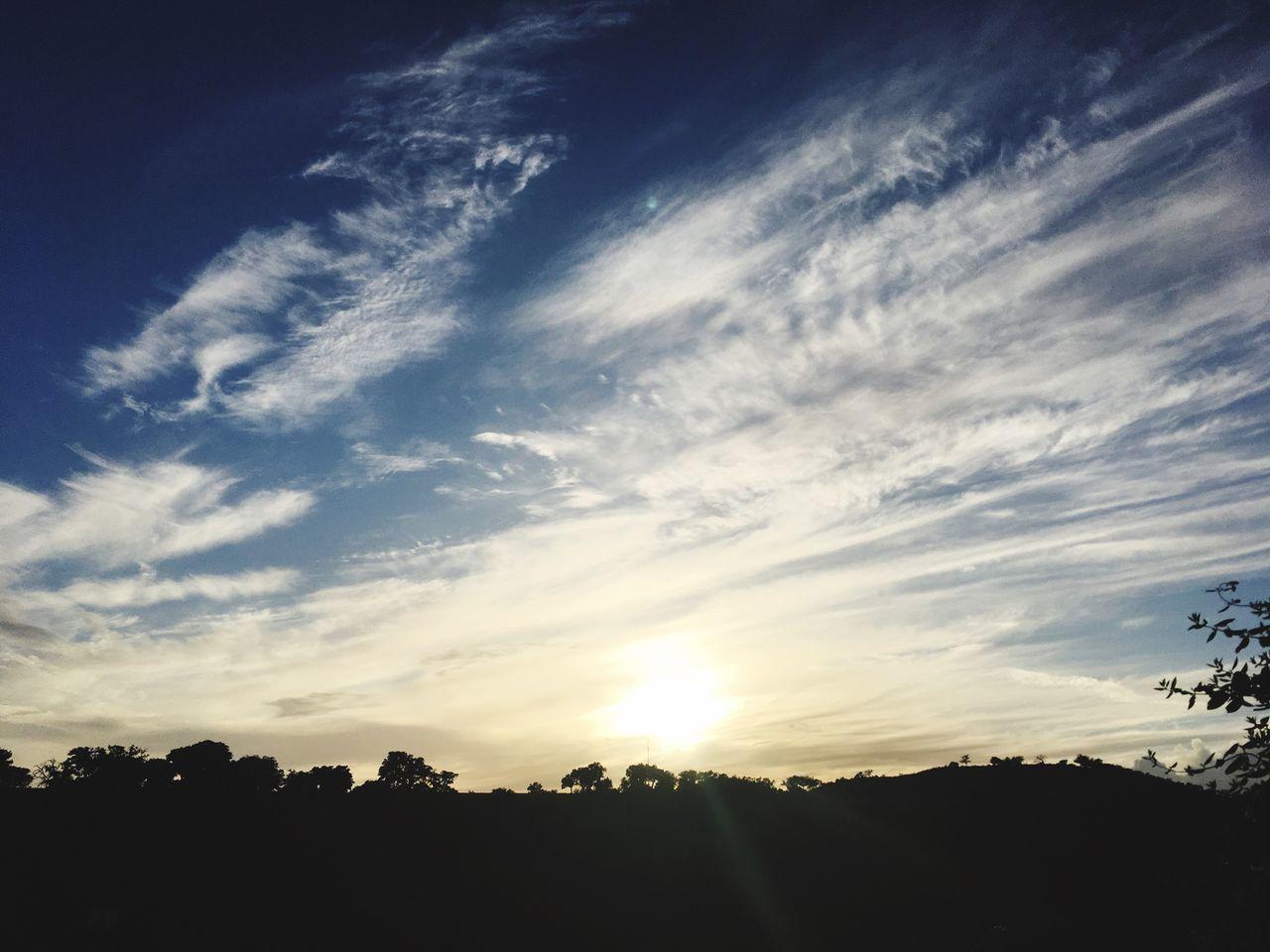 Herdade do Telheiro. Beauty In Nature Sunset Nature Sky Sunset Light Odemira Alentejo,Portugal