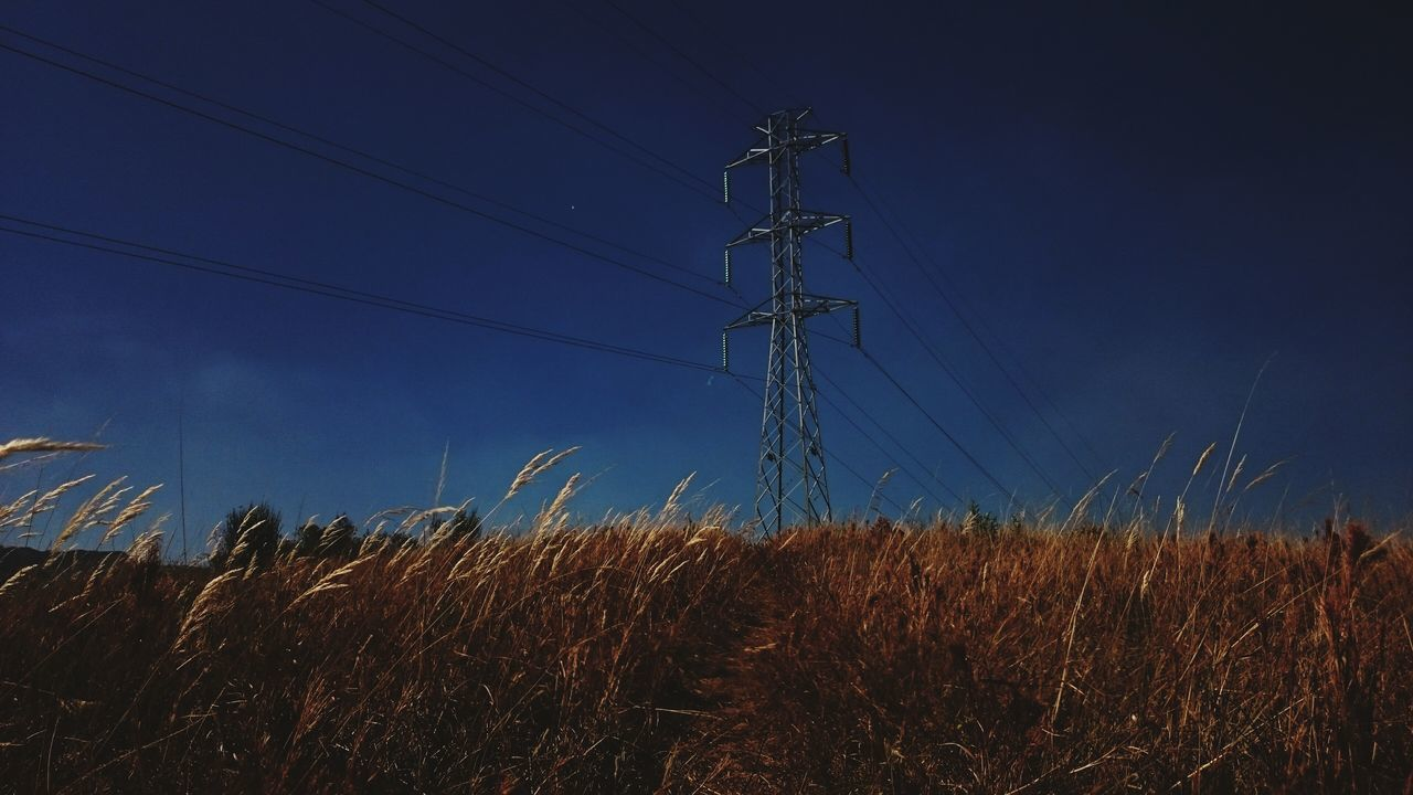 Electricity  Outdoors No People Low Angle View Rural Scene Technology Sky Day EyeEm Best Shots Eyem Best Edits Rural Scenes Rural Electric Tower  Electricidad