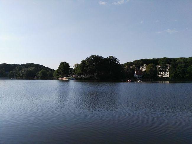 Lake of Genval Belgium