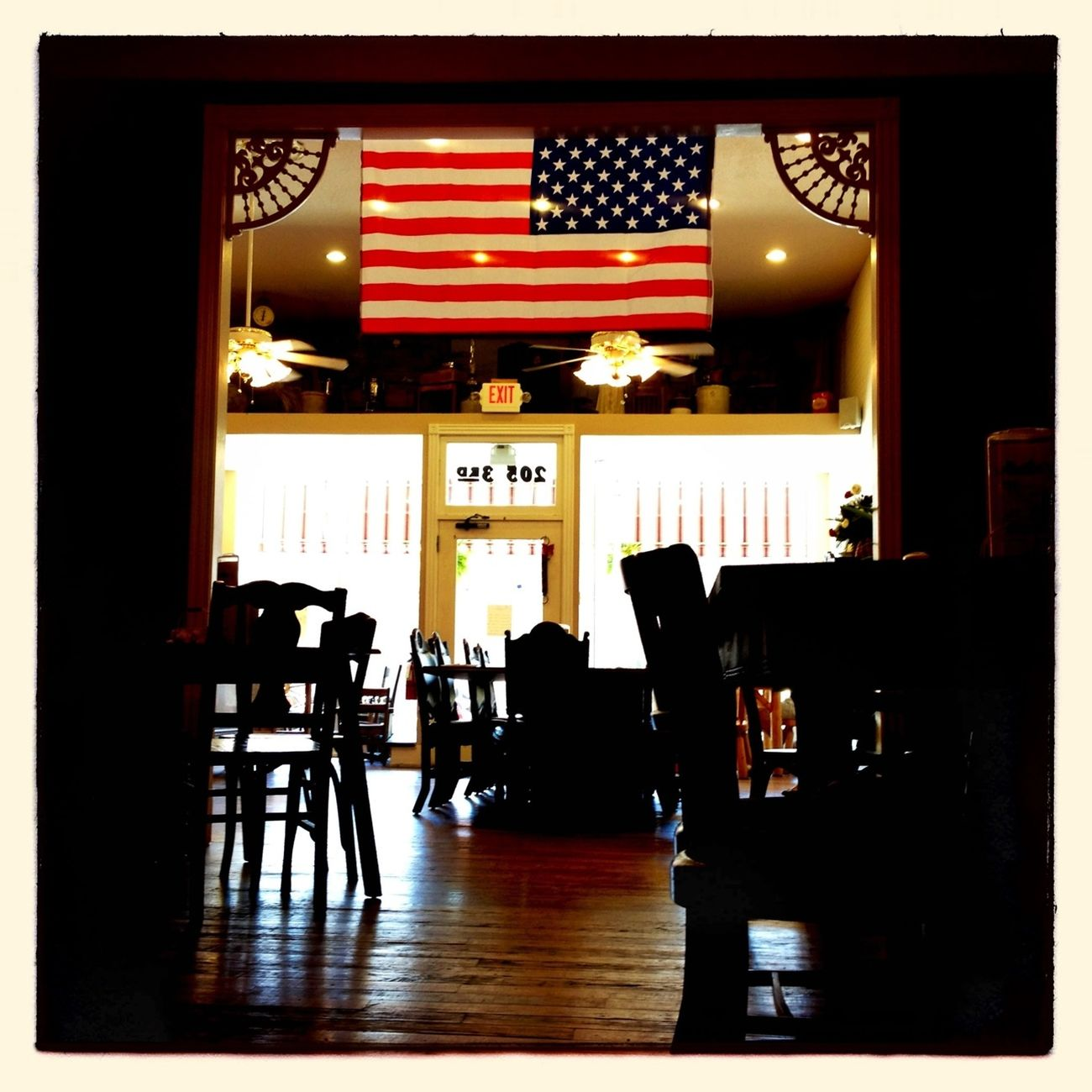 Breakfast! Hipstamatic Flag