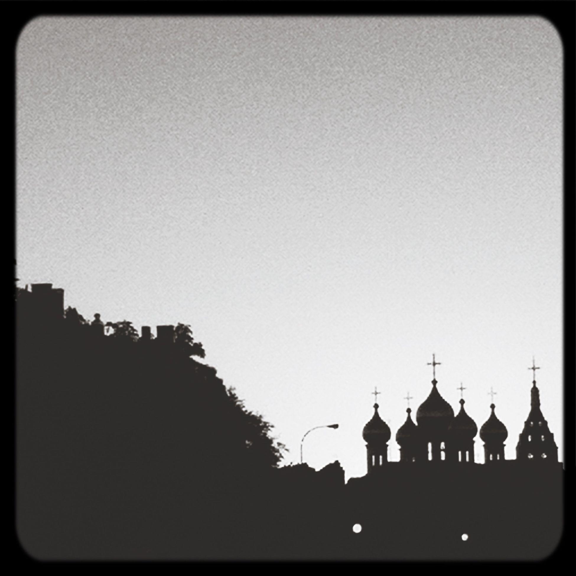 Silhouette Arquitecture Madrid Blackandwhite