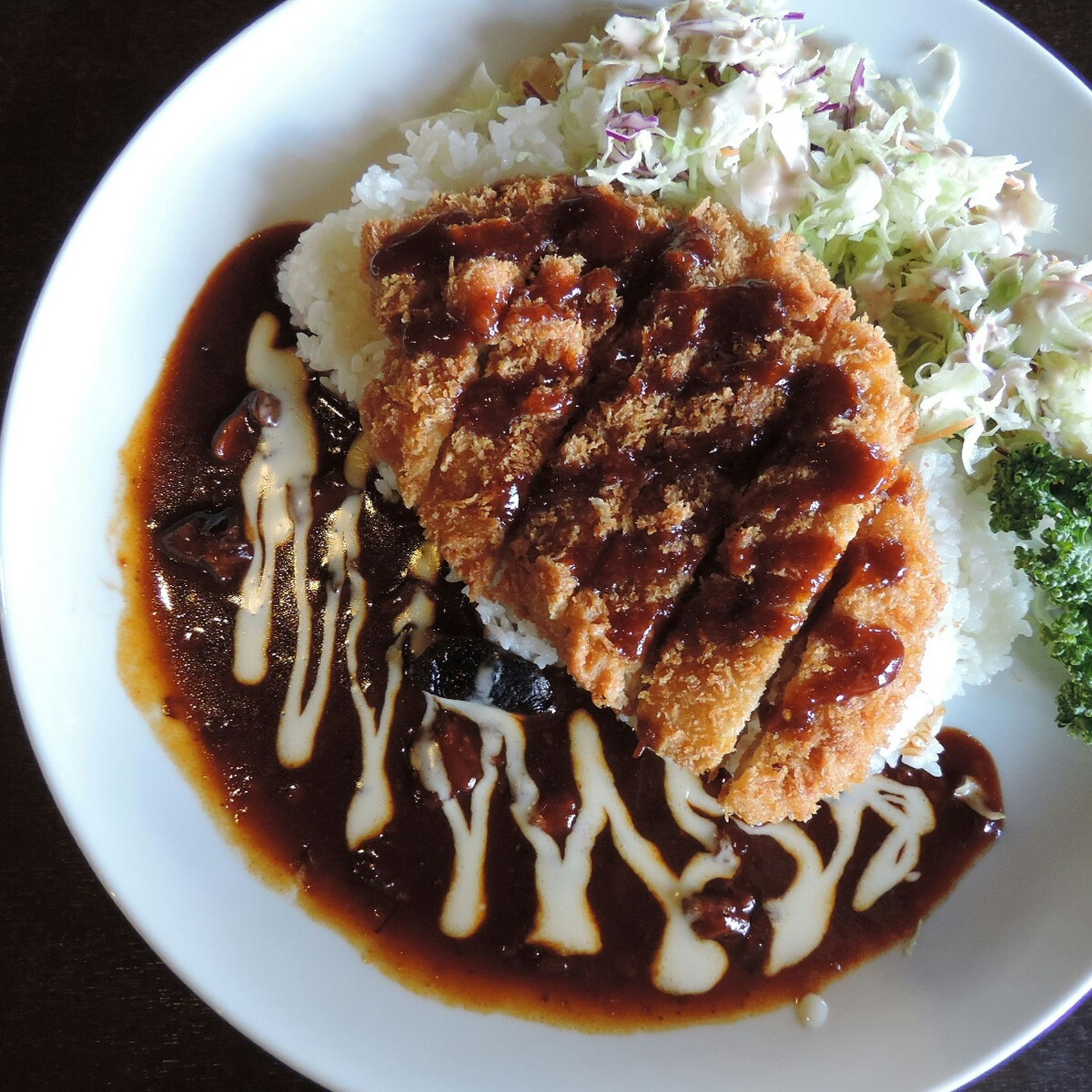 The Foodie - 2015 EyeEm Awards Hashed Beef Porkcutlet Rice Lunch Delicious Nikon Nikonphotography Salad Food