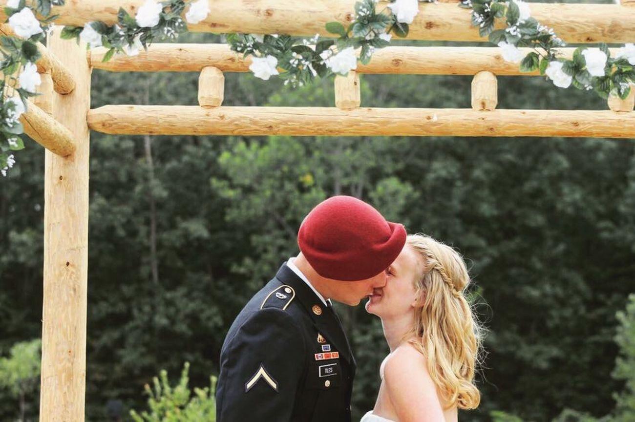 Wedding Photography Marine USMC Bride And Groom