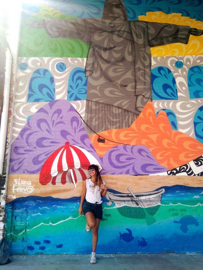 My wonderful city Rio2016 Wonderful City Art Enjoying Life Happiness FunnyMoments  Carioca Girl