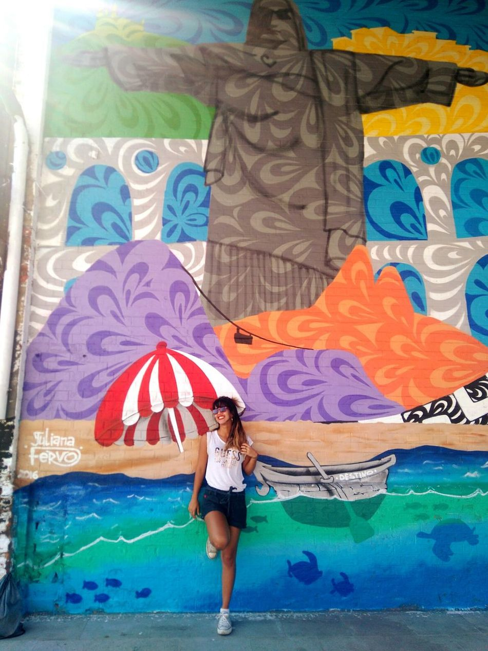 My wonderful city Rio2016 Wonderful City Art Enjoying Life Happiness FunnyMoments  Carioca Girl