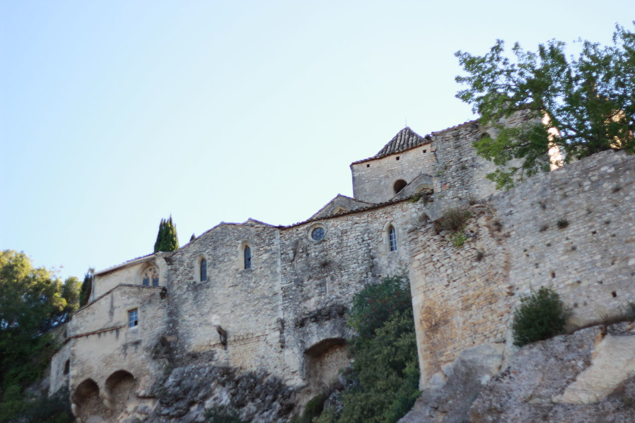 Ancient Architecture France Rhonealpes Romaine Vaisonlaromaine