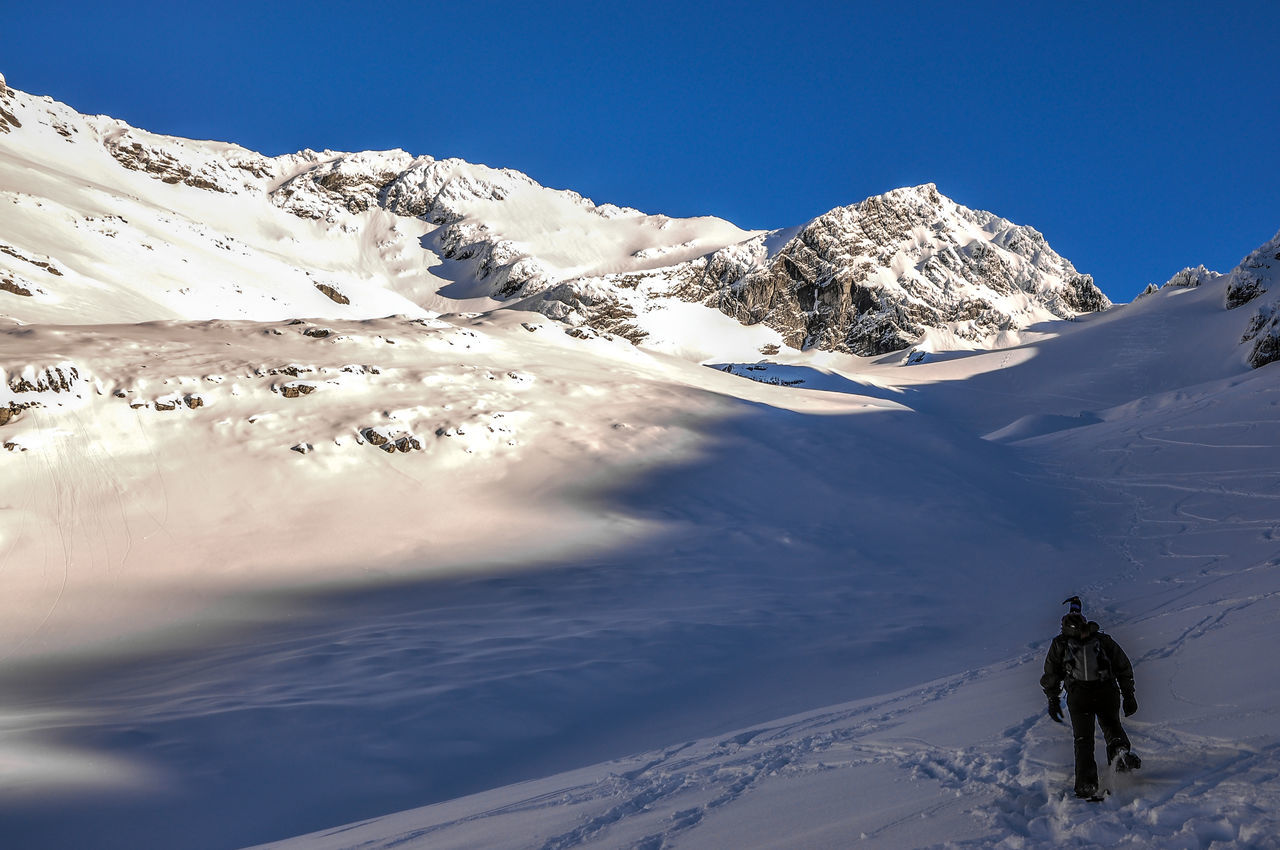 Hiking up Martial Glacier outside of Ushuaia. Adventure Argentina Beautiful Day Freeze Frozen Glacier Ice Landscape Mountain Mountains Nature Outdoors Peak Scenics Skiing Snow Sunlight Tranquility Travel Ushuaïa Vacations Weather Wilderness Winter