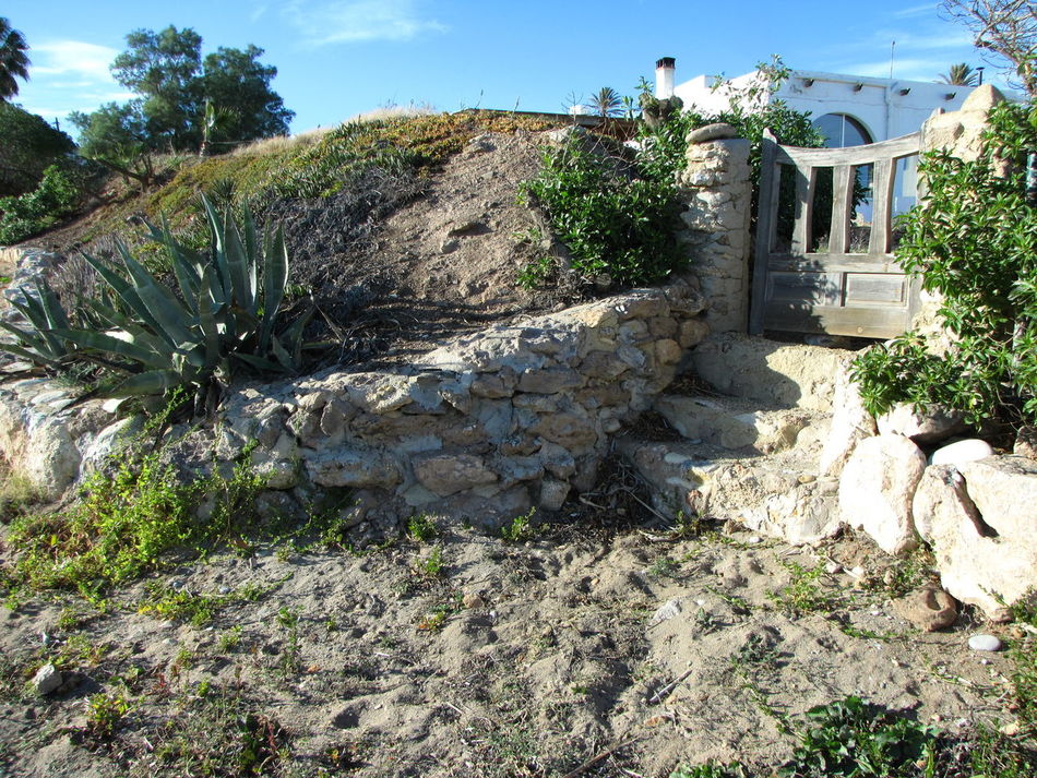 Direct from the beach to home Day Entryway Hogar Home Sweet Home No People Outdoors Plants Rural Scene Sand Stairs Stone Material Sunlight