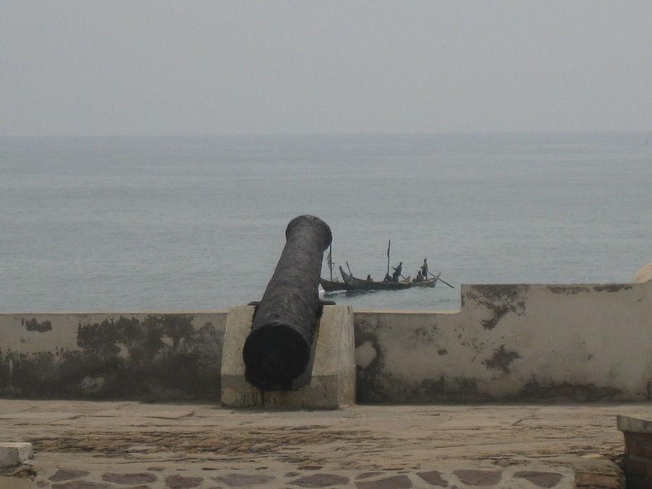 Cannon Cape Coast Cape Coast Castle Deterioration Ghana History Old Run-down
