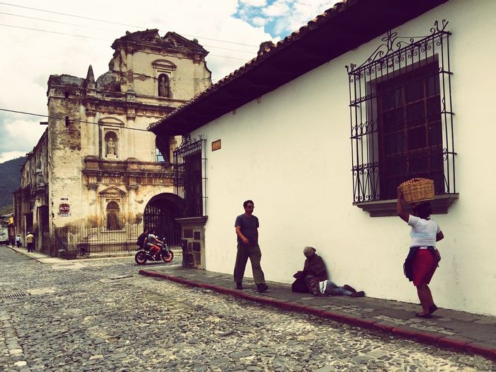 Latin America Central America Guatemala Antigua Antigua Guatemala Colonial Architecture Colonial Town Street Photography Church Chapel Mesoamerica The Street Photographer - 2017 EyeEm Awards The Week On EyeEm