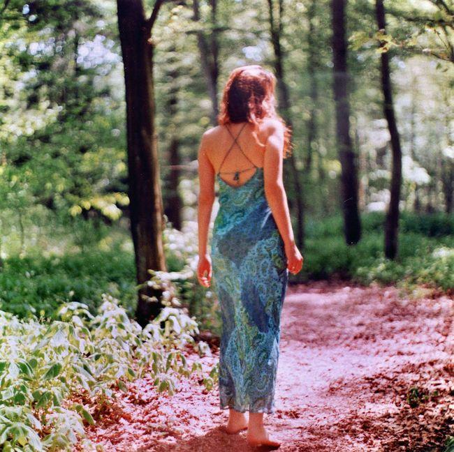 Bokeh Film Forest Model Walk Wald Analogue Photography Analog Kievcamera 120 Film 120mm Analog Camera Filmisnotdead
