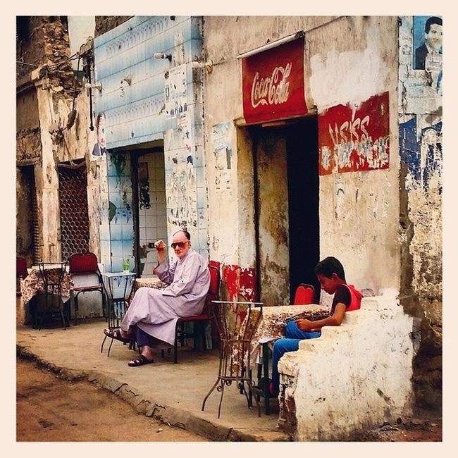 Egypt Kairo Oldpaint Lovelyday daytrip CocaCola colour beautiful