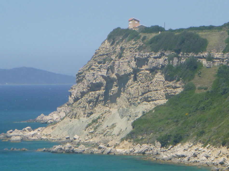 Looking From One Mountain Top To Another. San Stefanos, Corfu, Greece