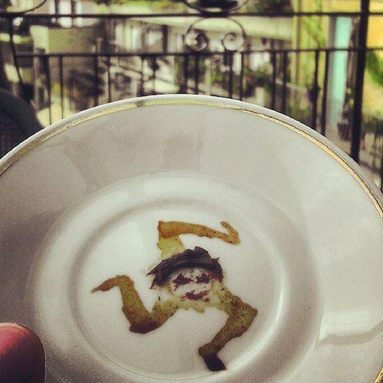Colazione in Sicilia Trinacria Ristretto nutella latte mandorla granita pistacchio sistabene