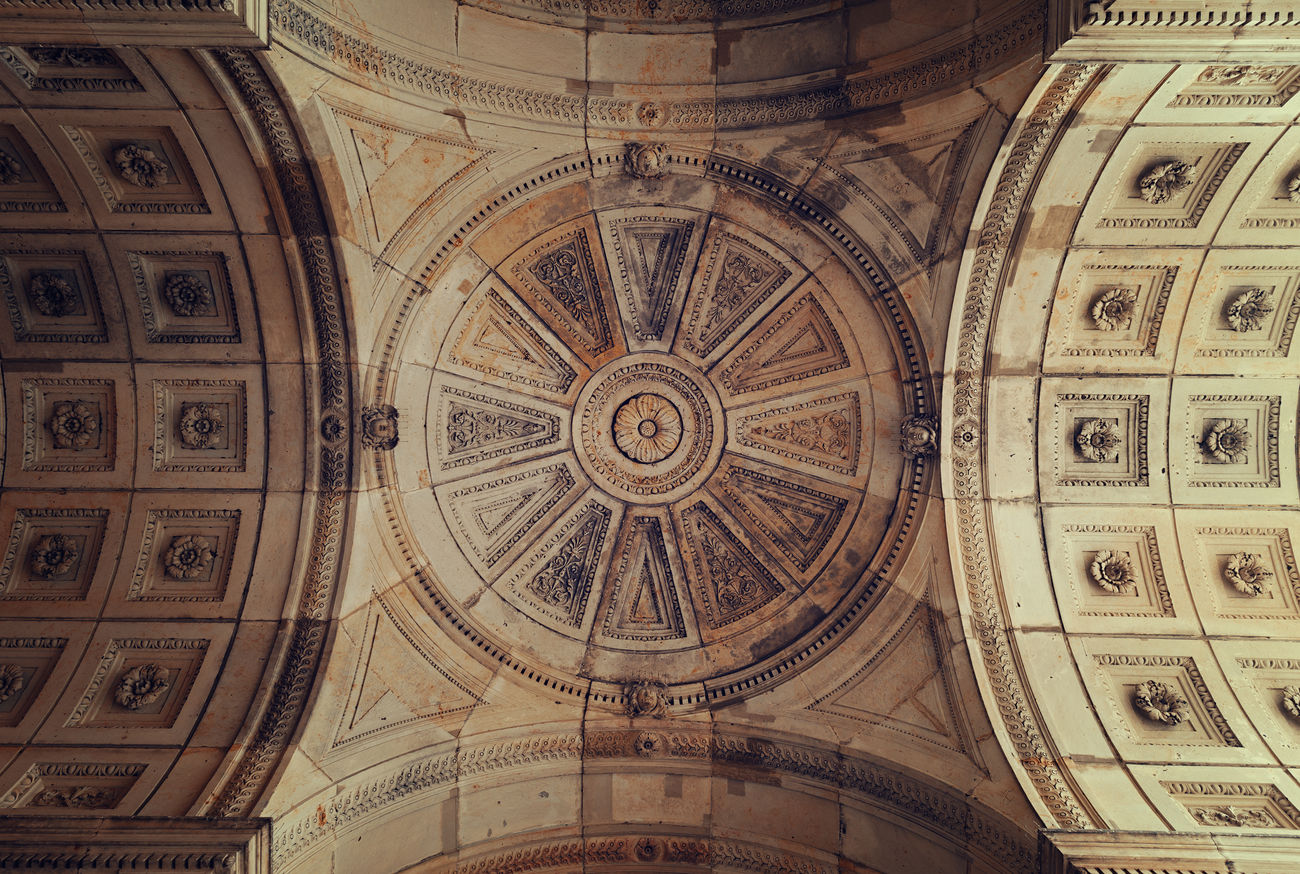 artful historic vault Architecture Architecture And Art Artful ArtWork Baroque Architecture Beautiful Classicism Day Dome Germany History Indoors  No People Old Ornament Pattern Sculpted Stone Tourism Travel Destinations