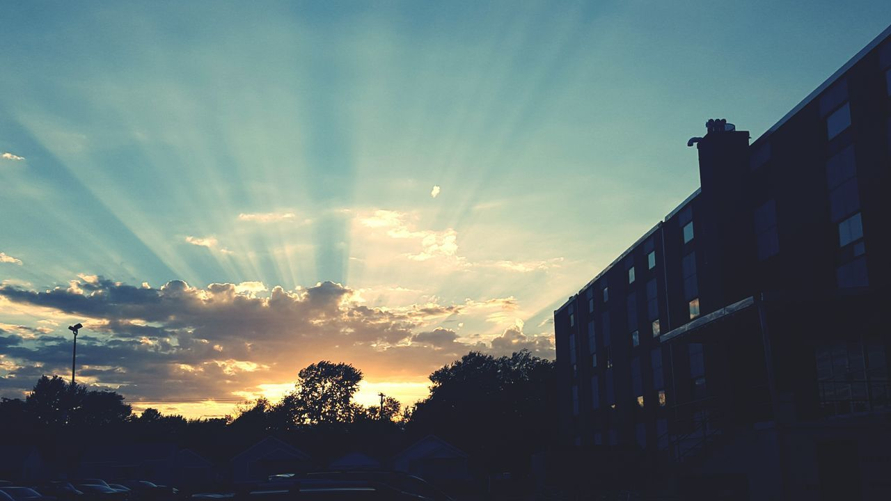 Sunsets on campus Sunset Southwest Baptist University Bolivar Missouri BoMo First Eyeem Photo