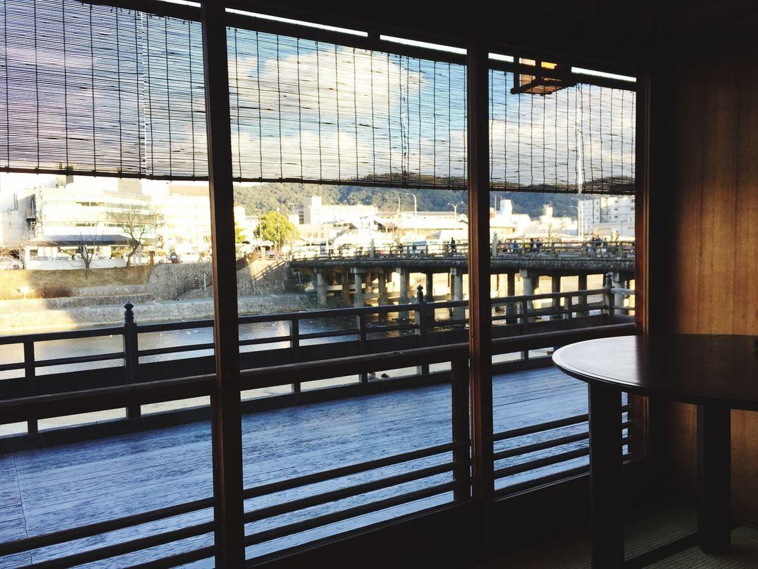 鴨川の昼 Kyoto Kamogawa モリタ屋 焼肉 肉屋 Kiyamachi 木屋町 JapaneseStyle Japan Photography EyeEmJapan