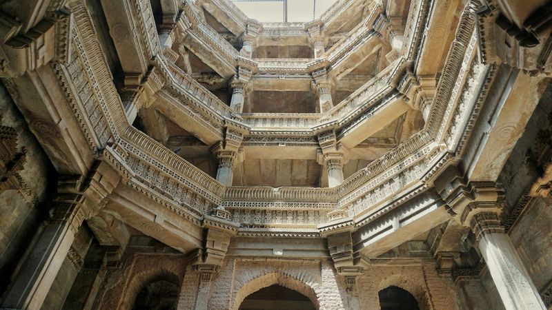 5 levels of History. Ahmedabad Stepwell Adalajstepwell Adalaj Architecture_collection India The Architect - 2016 EyeEm Awards