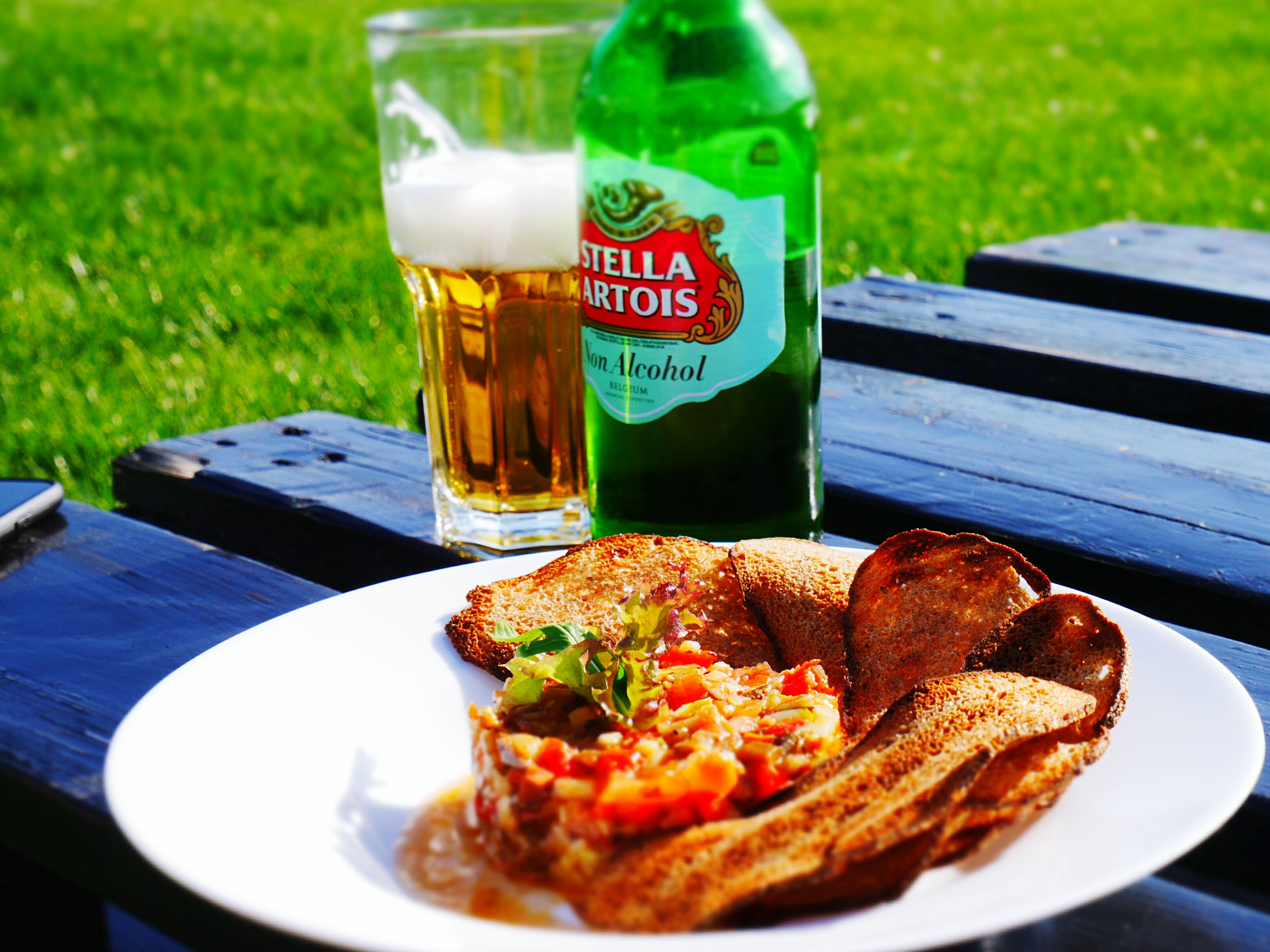 food and drink, food, drink, freshness, plate, table, healthy eating, refreshment, outdoors, drinking glass, no people, serving size, beer - alcohol, ready-to-eat, day, alcohol, close-up