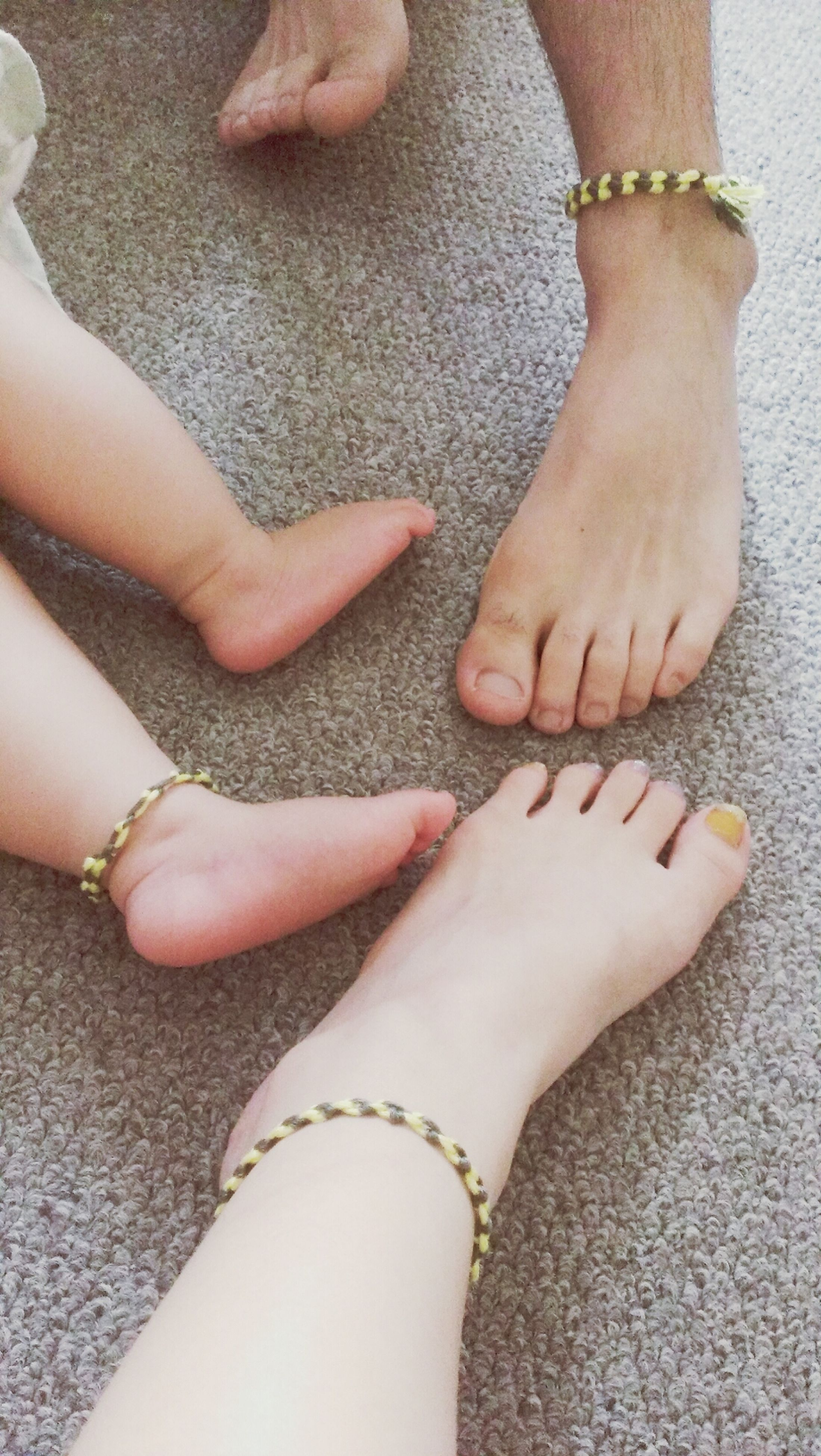low section, person, personal perspective, lifestyles, part of, human foot, leisure activity, barefoot, high angle view, close-up, fashion, human limb, nail polish, shoe, standing