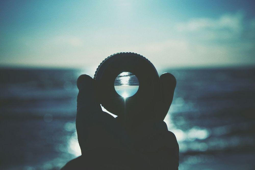 I sea you. Lensphotography Contre-jour Fuji X-T1 Relaxing Sea EyeEm Best Shots Bokeh FUJIFILM X-T1 Blue Showcase: January