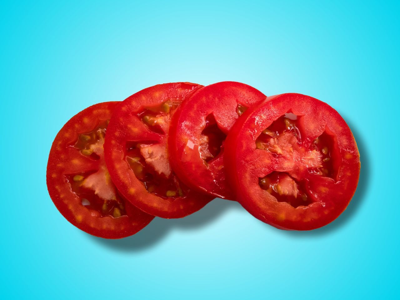 Red Studio Shot Vegetable Healthy Eating Freshness Close-up Food Food And Drink Red Bell Pepper No People Day Tomato