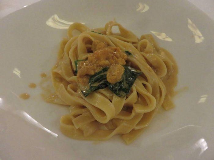 雲丹のパスタ🍝 Food Pasta Food And Drink Close-up Freshness Indoors  Plate Ready-to-eat Italian Food No People Spaghetti Day