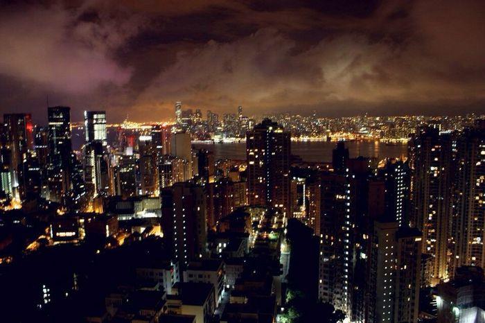 The Peak - Hong Kong Topofview Awesome Verybeautiful Ilovehongkong Sky Themostbeautifulplace Hongkongisland