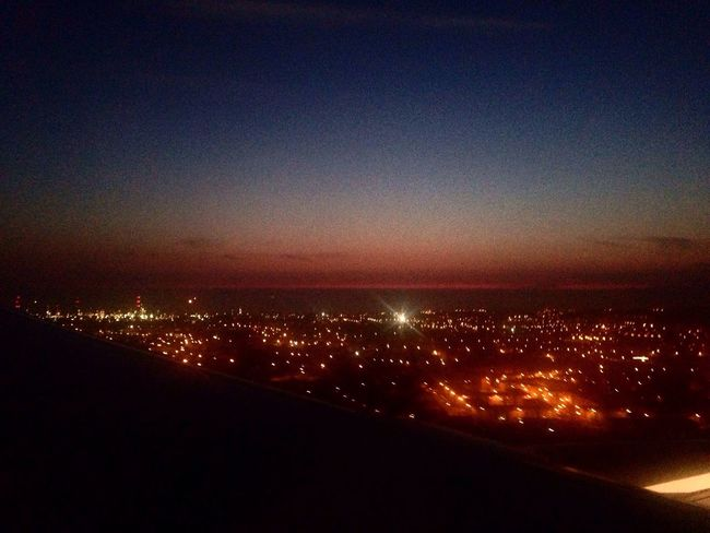 Nightphotography Aerial View Welcome View Fly Me To The Moon Plane Photos