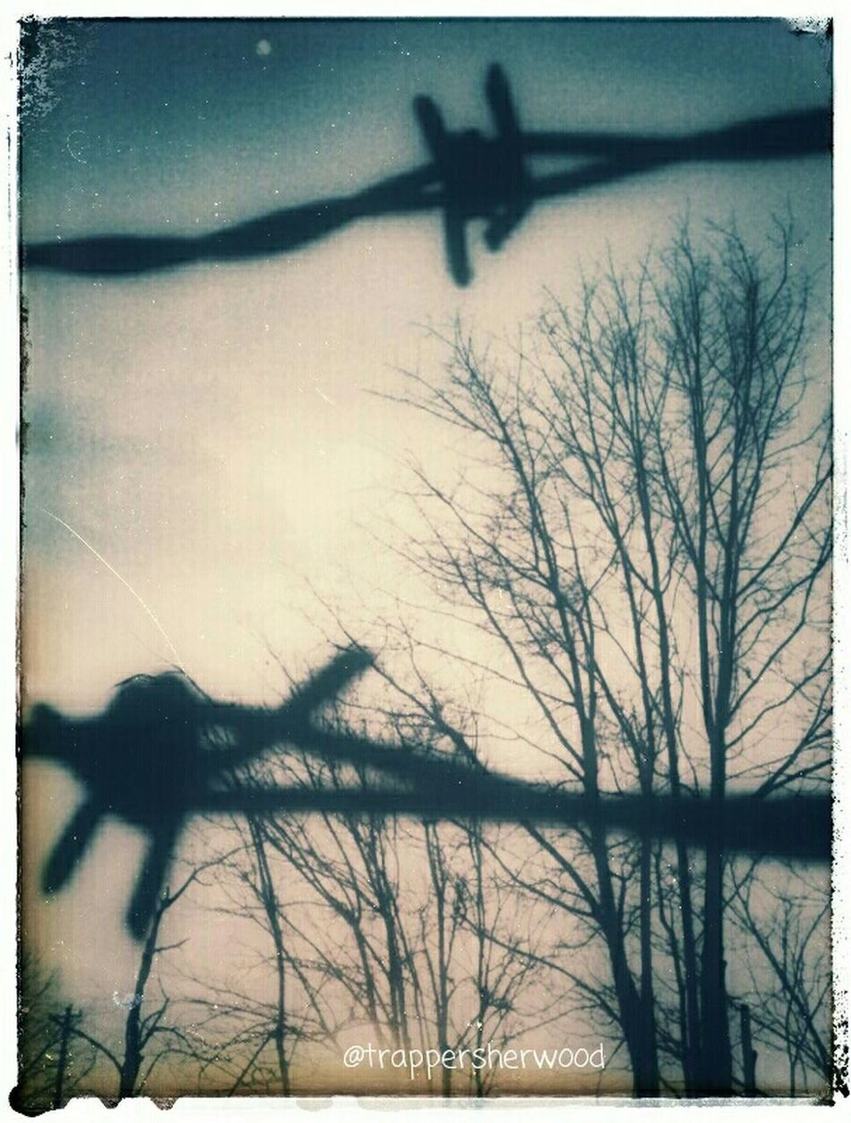 Barbed Wire Wednesday Über_edit_monthly Multiple Layers Barb Wire