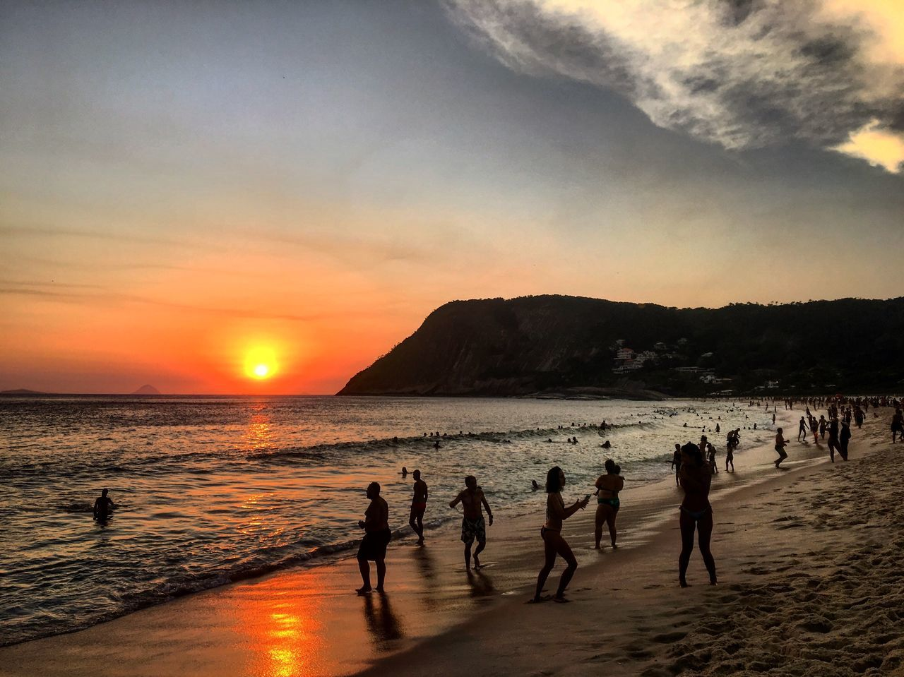 Rio De Janeiro Eyeem Fotos Collection⛵ Sunset_collection Sun Summer Goprooftheday VSCO The Great Outdoors With Adobe