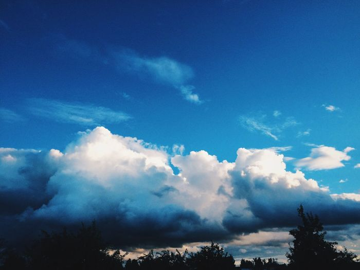 Storm Cloud Beauty In Nature Cloud Blue Day