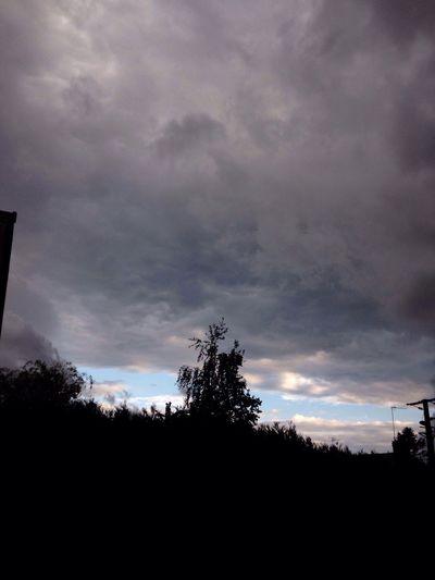 Un coin de ciel bleu...