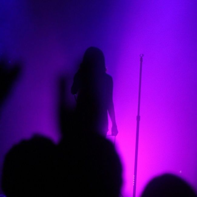i like this one. @chvrches Terminal5 Chvrches LaurenMayberry