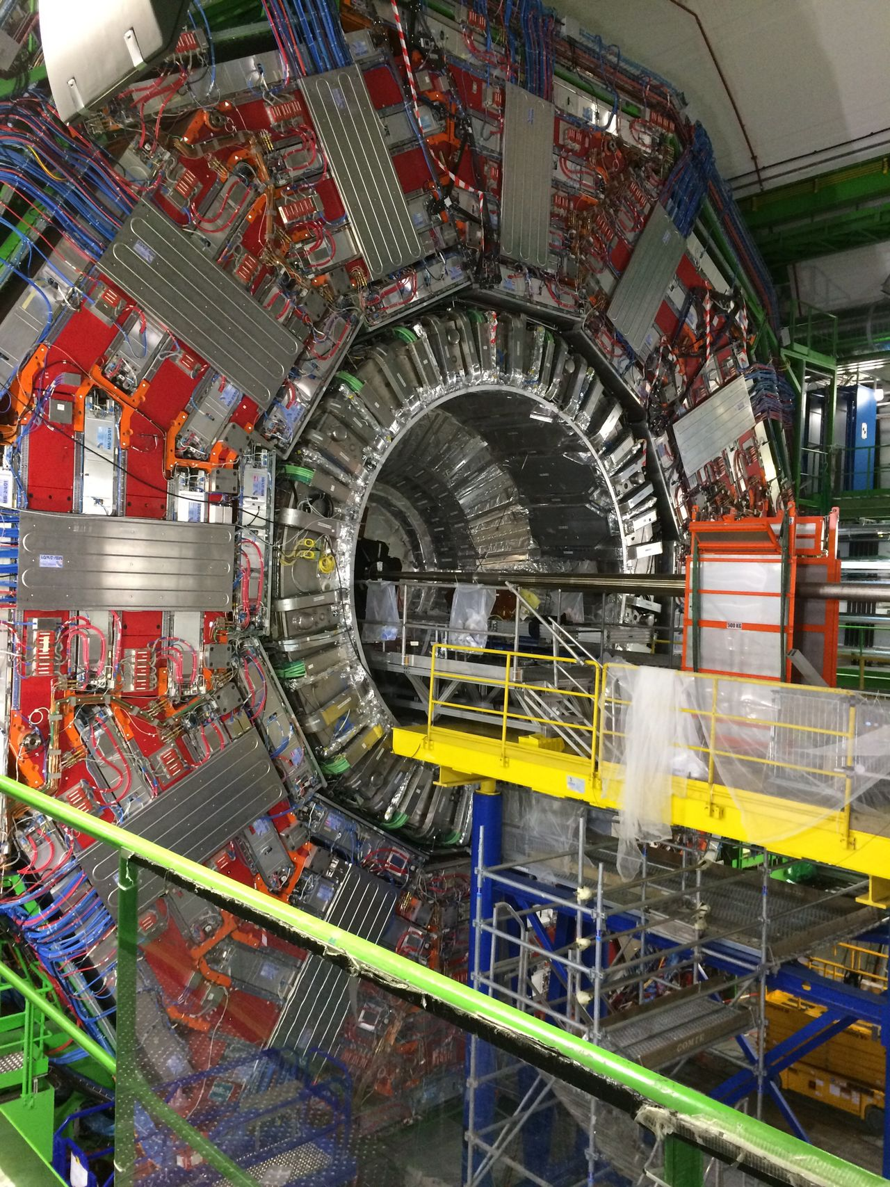 Industry Built Structure Factory Architecture Machinery Indoors  Cern Modern Manufacturing Equipment Technology Day