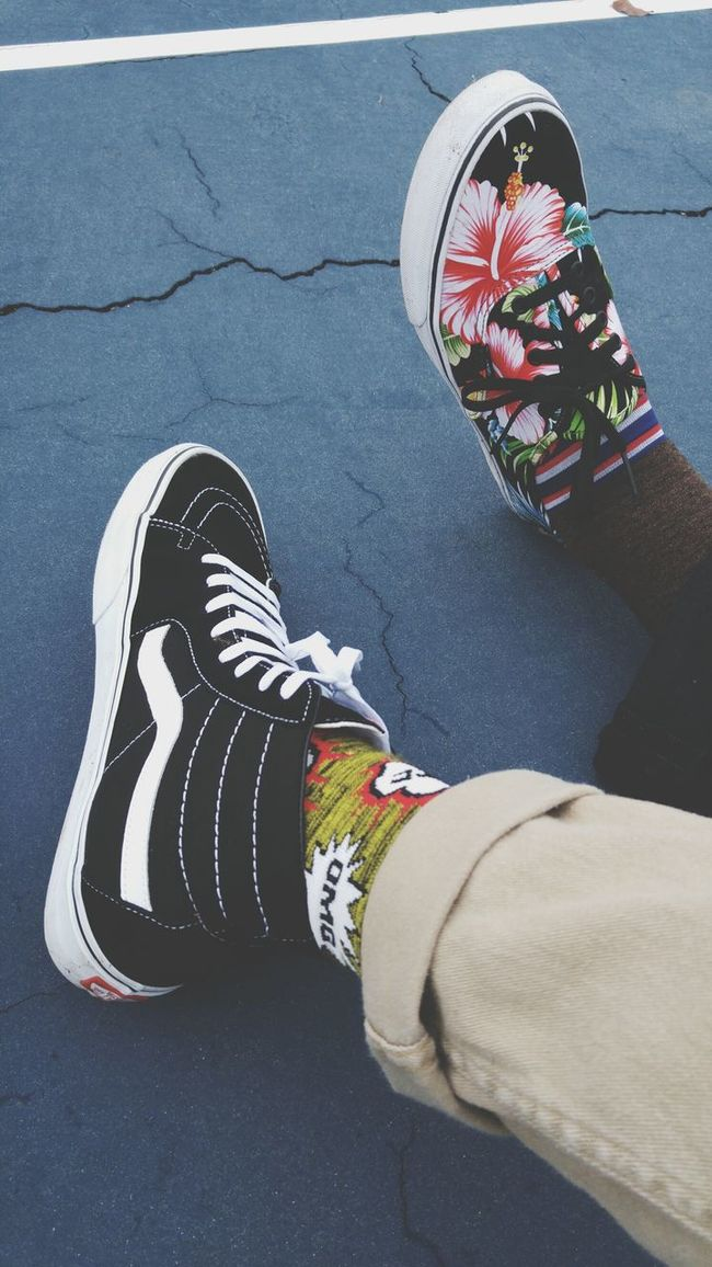 Vans Off The Wall Summer Vibes Hello World