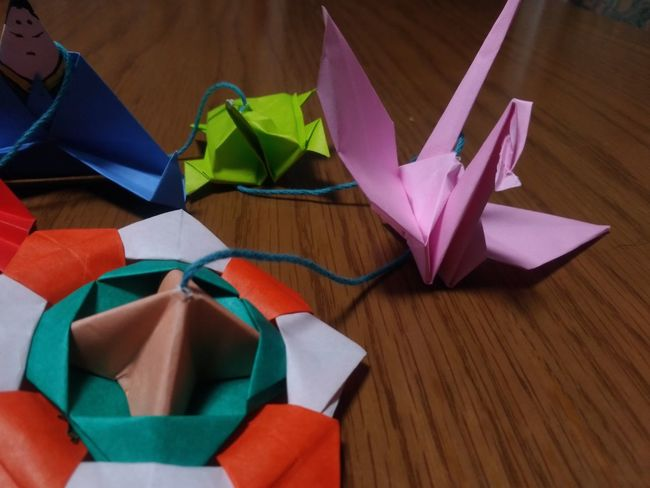 Close-up Paper Indoors  No People ひなまつり おりがみ Origami Birds Origami 高崎市 群馬県 Japan Android Zenfone3 Indoors  群馬 日本